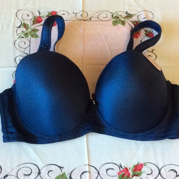 ba413888c8fe92 New Blue Padded Bra 44DDD Angelina Support plus